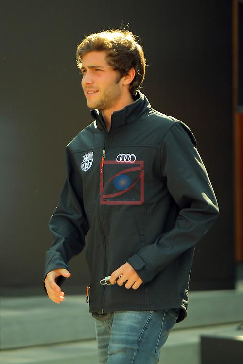 AUDI Premium Partner del FC Barcelona.<br /> Sergi Roberto.