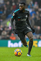Tiemoue Bakayoko of Chelsea (14)  during the Premier League match between Brighton and Hove Albion and Chelsea at the American Express Community Stadium, Brighton and Hove, England on 20 January 2018. Photo by Edward Thomas / PRiME Media Images.