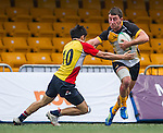 Penguins vs Hong Kong Lions during day 1 of the 2014 GFI HKFC Tens at the Hong Kong Football Club on 26 March 2014. Photo by Xaume Olleros / Power Sport Images
