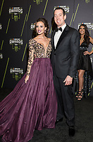 LAS VEGAS, NV - NOVEMBER 30: Samantha Busch and Kyle Busch arriving to the 2017 NASCAR Sprint Cup Awards at The Wynn Hotel & Casino in Las Vegas, Nevada on November 30, 2017. Credit: Damairs Carter/MediaPunch /NortePhoto NORTEPHOTOMEXICO