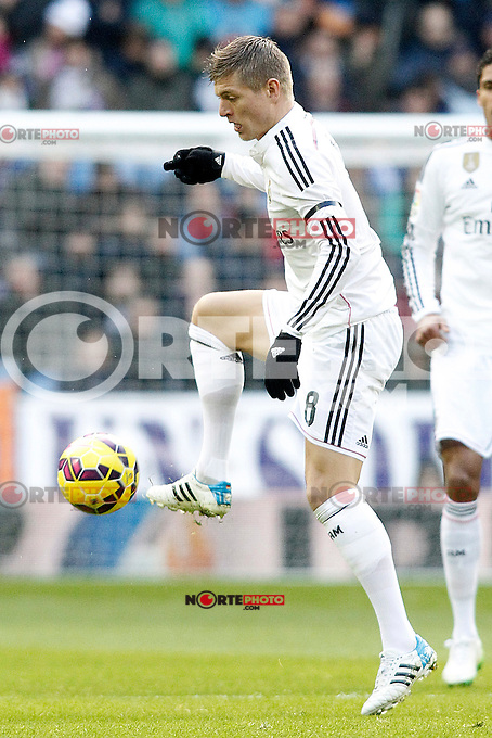 Real Madrid's Toni Kroos during La Liga match.January 31,2015. (ALTERPHOTOS/Acero) /NortePhoto<br />