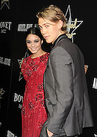 WWW.BLUESTAR-IMAGES.COM Actress Vanessa Hudgens (L) and actor Austin Butler arrive at the Hollywood Domino's 7th Annual Pre-Oscar Charity Gala at Sunset Tower on February 27, 2014 in West Hollywood, California.<br /> Photo: BlueStar Images/OIC jbm1005  +44 (0)208 445 8588
