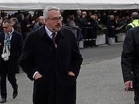 Bobo Craxi  partecipa ai funerali  di  Pino Daniele al santuario del divino amore di Roma