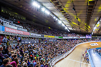 Picture by Alex Whitehead/SWpix.com - 05/03/2016 - Cycling - 2016 UCI Track Cycling World Championships, Day 4 - Lee Valley VeloPark, London, England - A General View (GV).