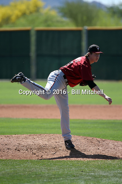 Brent Jones - Arizona Diamondbacks 2016 spring training (Bill Mitchell)