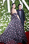 NEW YORK, NY - JUNE 11:  Liu Wen and Zac Posen attend the 71st Annual Tony Awards at Radio City Music Hall on June 11, 2017 in New York City.  (Photo by Walter McBride/WireImage)