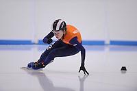 SCHAATSEN: LEEUWARDEN: 08-10-2015, Elfstedenhal, shorttrack time trial, Lara van Ruijven, ©foto Martin de Jong