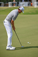 Jimmy Walker (USA) lips out his putt on 18 during round 3 of the AT&T Byron Nelson, Trinity Forest Golf Club, at Dallas, Texas, USA. 5/19/2018.<br /> Picture: Golffile | Ken Murray<br /> <br /> <br /> All photo usage must carry mandatory copyright credit (© Golffile | Ken Murray)
