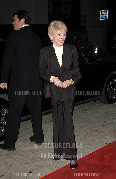Actress JANET LEIGH at the Los Angeles premiere of It Runs In The Family..April 7, 2003.