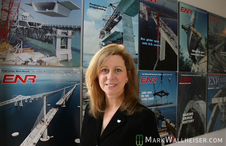 Linda Figg, CEO of Figg Engineering in Tallahassee, Florida March 20, 2007.  (Mark Wallheiser/TallahasseeStock.com)