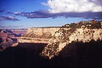 GEOLOGY<br /> Grand Canyon, South Rim<br />  Formed by the Coconino Plateau and featuring a conspicuous layer of Coconino Sandstone<br />  National Park AZ.