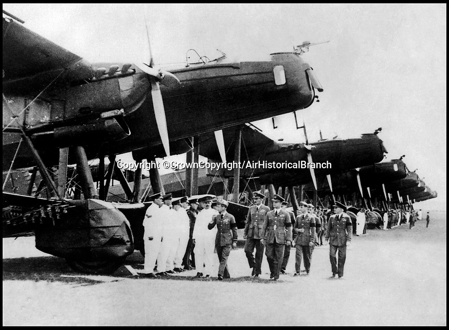BNPS.co.uk (01202 558833)<br /> Pic: CrownCopyright/AirHistoricalBranch<br /> <br /> Flying visit - Edward Vlll visiting RAF Mildenhall in 1936.<br /> <br /> A new book gives an intimate look behind the scenes of the Royal Flight and also the flying Royals.<br /> <br /> Starting in 1917 the book charts in pictures the 100 year evolution of first the King's Flight and then later the Queen's Flight as well as the Royal families passion for aviation.<br /> <br /> Author Keith Wilson has had unprecedented access to the Queen's Flight Archives to provide a fascinating insight into both Royal and aeronautical history.