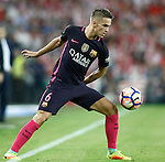 FC Barcelona's Denis Suarez during La Liga match. August 28,2016. (ALTERPHOTOS/Acero)