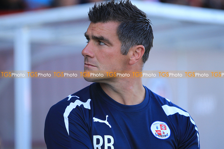 Crawley Town Manager Richie Barker - Crawley Town vs Tranmere Rovers - NPower League One Football at the Broadfield Stadium, Crawley, West Sussex - 22/09/12 - MANDATORY CREDIT: Simon Roe/TGSPHOTO - Self billing applies where appropriate - 0845 094 6026 - contact@tgsphoto.co.uk - NO UNPAID USE