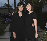 "CULVER CITY, CA - MAY 8:  Hannah Simone and Zooey Deschanel at Fox's ""New Girl"" screening and recpetion at the Little Theater at the Fox Lot on May 8, 2018 in Culver City, California. (Photo by Scott Kirkland/Fox/PictureGroup)"