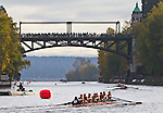 Rowing, Head of the Lake Regatta, November 2 2014, Seattle, University of British Columbia crew, Women's 3JV 8+, Washington State, Lake Washington Rowing Club, Lake Washington Ship Canal, Montlake Cut,