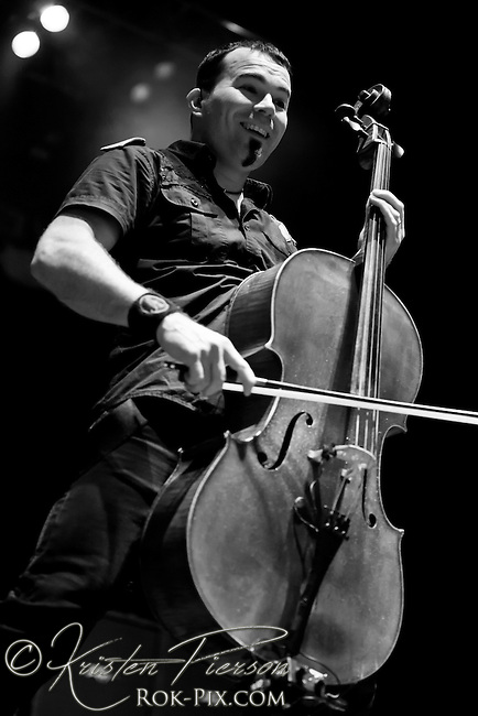 Apocalyptica perform at Comcast Center in Hartford on May 20 2011