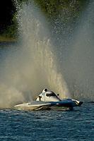 """Jim Martin, E-43 """"Keen's Sunday Money"""" (5 Litre class hydroplane)"""