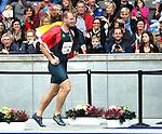 31.08.2014, OLympiastadion, Berlin, GER, Leichathletik, ISTAF-2014, im Bild Diskus, Robert Harting (GER)<br /> <br />               <br /> Foto &copy; nordphoto /  Engler