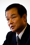 Takanobu Ito, president of Honda Motor Co., speaks during an interview at the automaker's headquarters in Tokyo, Japan on Thursday 09 Oct. 2009..