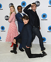 05 February 2019 - Pasadena, California - AJ Michalka, Tim Meadows, Brett Dier, Bryan Callen. Disney ABC Television TCA Winter Press Tour 2019 held at The Langham Huntington Hotel. <br /> CAP/ADM/BT<br /> &copy;BT/ADM/Capital Pictures