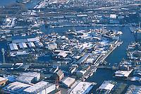 Deutschland, Hamburg, Harburg, Harburger Schloßinsel,.Verkehrshafen, Lotsekanal, Zitadellenstrasse, Bauhofstrasse