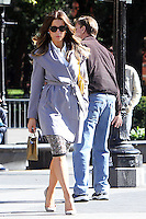 NEW YORK, NY - OCTOBER 10: Kate Beckinsale on the set of the new film, The Only Living Boy on October 10, 2016 in New York City. Credit: RW/MediaPunch