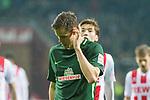 12.03.2018, Weser Stadion, Bremen, GER, 1.FBL, Werder Bremen vs 1.FC Koeln, im Bild<br /> <br /> Niklas Moisander (Werder Bremen #18)<br /> Foto &copy; nordphoto / Kokenge