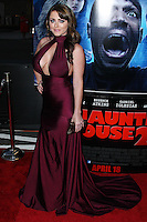 "LOS ANGELES, CA, USA - APRIL 16: Kirsty Hill at the Los Angeles Premiere Of Open Road Films' ""A Haunted House 2"" held at Regal Cinemas L.A. Live on April 16, 2014 in Los Angeles, California, United States. (Photo by Xavier Collin/Celebrity Monitor)"