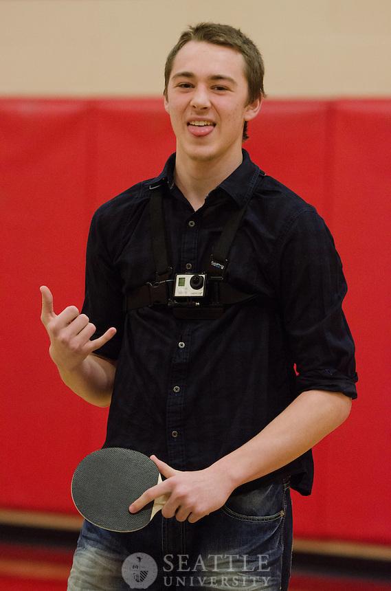 Intramural Table Tennis - 1/23/14