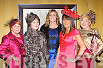 Ann O'Sullivan, Annette Corridon, Vivian Power, Karen Bruton, Kathleen Daly modelling clothes from Jasmine boutique at the St Pauls basketball club fashion show in the Killarney Avenue Hotel on Friday night ..