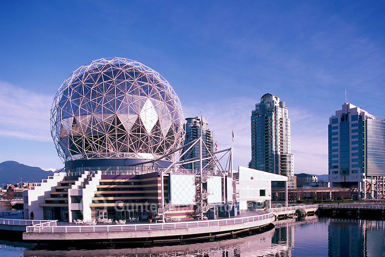 "Vancouver, BC, British Columbia, Canada - Telus World of Science at ""False Creek"""