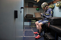 Mitchell Docker (AUS/ORICA-Scott) pre-race<br /> <br /> 115th Paris-Roubaix 2017 (1.UWT)<br /> One Day Race: Compiègne › Roubaix (257km)