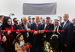 Palestinian Prime Minister Rami Hamdallah opens sport stadium in the West Bank city of Salfit on July 22, 2017. Photo by Prime Minister Office