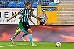05.08.2019, Carl-Benz-Stadion, Mannheim, GER, 3. Liga, SV Waldhof Mannheim vs. TSV 1860 Muenchen, <br /> <br /> DFL REGULATIONS PROHIBIT ANY USE OF PHOTOGRAPHS AS IMAGE SEQUENCES AND/OR QUASI-VIDEO.<br /> <br /> im Bild: Michael Schultz (SV Waldhof Mannheim #23) gegen Marius Willsch (TSV 1860 Muenchen #25)<br /> <br /> Foto © nordphoto / Fabisch