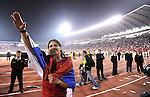 FUDBAL, BEOGRAD, 10.10.2009. -   Marko Pantelic. Fudbalska reprezentacija Srbije u pretposlednjem kolu kvalifikacija za Svetsko prvenstvo 2010. godine u Juznoj Africi pobedila je Rumuniju rezultatom 5:0. Foto: Nenad Negovanovic - Sportska centrala