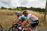 All smiles form Alexandre Geniez (FRA) Ag2r La Mondiale during Stage 1 of the Route d'Occitanie 2019, running 175.5km from Gignac-Vallée de l'Hérault to Saint-Geniez-d'Olt-et-d'Aubrac , France. 20th June 2019<br /> Picture: Colin Flockton | Cyclefile<br /> All photos usage must carry mandatory copyright credit (© Cyclefile | Colin Flockton)