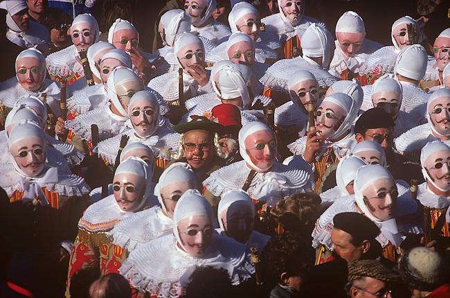 Mardi Grad, Binche, Belgium