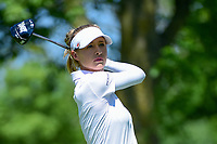 Nelly Korda (USA) watches her tee shot on 2 during Saturday's round 3 of the 2017 KPMG Women's PGA Championship, at Olympia Fields Country Club, Olympia Fields, Illinois. 7/1/2017.<br /> Picture: Golffile | Ken Murray<br /> <br /> <br /> All photo usage must carry mandatory copyright credit (&copy; Golffile | Ken Murray)