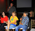 Kathleen Cullen, Jordan Clarke, Denise Pence, Jay Hammer, Jill Hurst (head writer) at Q & A - Guiding Light 75th Anniversary Brunch to benefit The American Cancer Society on October 7, 2012 at Bowlmor Lanes Times Square, New York City, New York.  (Photo by Sue Coflin/Max Photos)