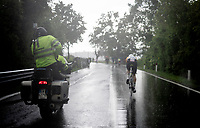 Australian TT Champion Luke Durbridge (AUS/Mitchelton-Scott) rolling in the heavy rain<br /> <br /> Stage 9 (ITT): Riccione to San Marino (34.7km)<br /> 102nd Giro d'Italia 2019<br /> <br /> ©kramon