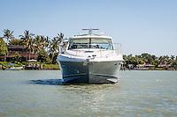 Sea Ray Sundancer from MarineMax cruises Gordon River in Naples, Florida, USA. Photo by Debi Pittman Wilkey