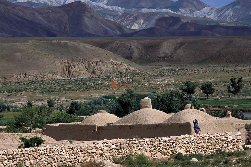 Afghan village on the way to Bala Murghab