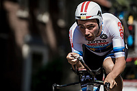 European Champion Victor Campenaerts (BEL/Lotto Soudal) <br /> <br /> Binckbank Tour 2018 (UCI World Tour)<br /> Stage 2: ITT Venray (NL) 12.7km
