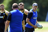 Zach Mercer of Bath Rugby. Bath Rugby pre-season training on July 2, 2018 at Farleigh House in Bath, England. Photo by: Patrick Khachfe / Onside Images