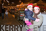 Siobhan O'Rourke and Courtney, in Abbeyfeale for the turning of the Christmas lights by santa on Sunday evening...   Copyright Kerry's Eye 2008