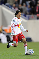 Irving Garcia (99) of the New York Red Bulls. The New York Red Bulls defeated the Philadelphia Union 2-1 during a US Open Cup qualifier at Red Bull Arena in Harrison, NJ, on April 27, 2010.