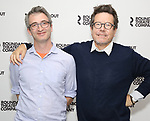 Director Daniel Aukin and playwright Alexi Kaye Campbell attend the photo call for the Roundabout Theatre Company Production of 'Apologia'  on September 5, 2018 at the Roundabout Rehearsal Studios in New York City.
