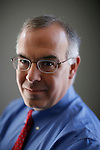 ©2011 David Burnett.Contact Press Images / New York NY.212 695 7750.New York NY.CathySaypol representation.saypolpr@AOL.com. January 14, 2011.Bethesda, MD.Author David Brooks at home, in Bethesda, MD