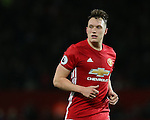 Phil Jones of Manchester United during the Premier League match at the Old Trafford Stadium, Manchester. Picture date: November 27th, 2016. Pic Simon Bellis/Sportimage